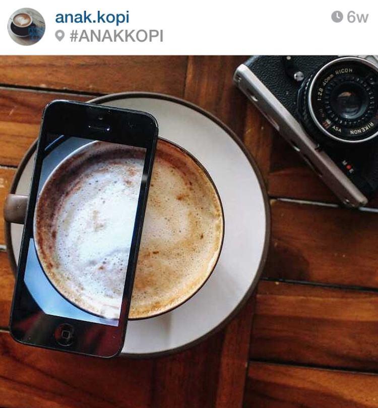 gambar cangkir kopi dan lebih: daftar Instagram terkait kopi Indonesia