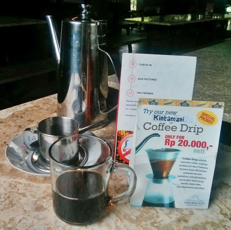 kuliner solo versus kopi kintamani